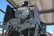 野辺山駅の機関車の画像002