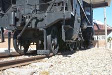 野辺山駅の機関車の画像003