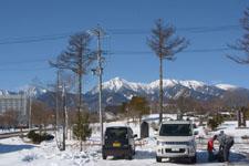 八ヶ岳 雪山
