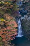 高の瀬渓の紅葉の画像011
