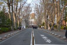 成蹊大学の正門の画像001