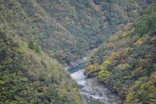 祖谷の渓谷の画像011