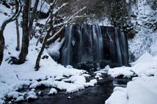 福島の雪の滝の画像001
