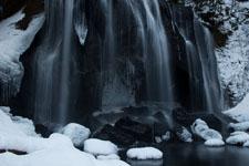 福島の雪の滝の画像002