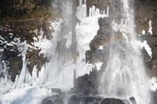 福島の雪の滝の画像008
