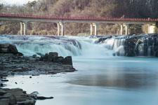 福島の雪の滝の画像014