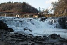 福島の雪の滝の画像016