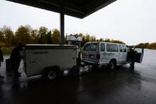 デナリ国立公園のガソリンスタンドの画像001