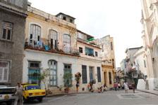 オールド・ハバナの街並みの画像051