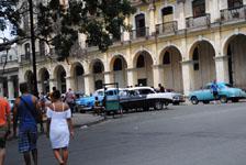 オールド・ハバナの街並みの画像065