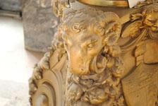 オールド・ハバナの彫刻