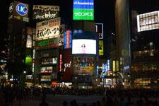 渋谷のスクランブル交差点の画像001