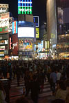 渋谷のスクランブル交差点の画像002