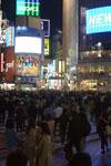 渋谷のスクランブル交差点の画像003