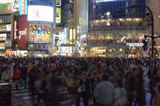 渋谷のスクランブル交差点の画像004