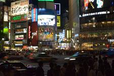 渋谷のスクランブル交差点の画像005