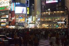 渋谷のスクランブル交差点の画像006