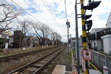 京王井の頭線の線路の画像001
