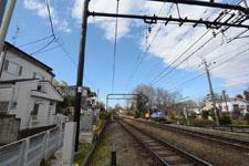 京王井の頭線の線路の画像002