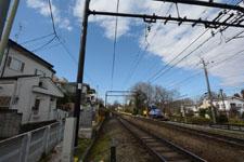 京王井の頭線の線路の画像003