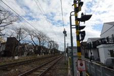 京王井の頭線の線路の画像004