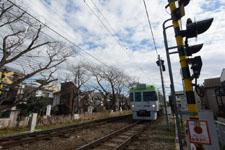 京王井の頭線の電車の画像001