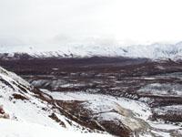 デナリ国立公園の山の画像001