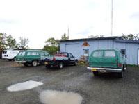 アラスカのトラック