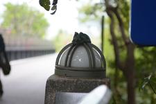 上野動物園のうさぎのオブジェ