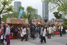 上野恩賜公園の露店