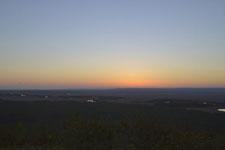 釧路湿原の夕焼けの画像001