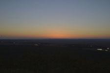 釧路湿原の夕焼けの画像002