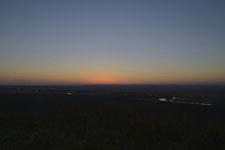 釧路湿原の夕焼けの画像003