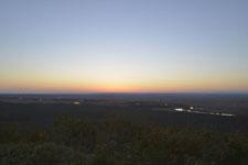 釧路湿原の夕焼けの画像004