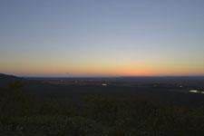 釧路湿原の夕焼けの画像005