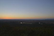 釧路湿原の夕焼けの画像006