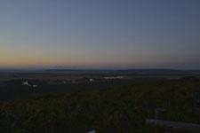 釧路湿原の夕焼けの画像007