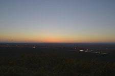 釧路湿原の夕焼けの画像009