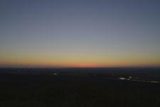 釧路湿原の夕焼けの画像011