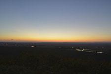 釧路湿原の夕焼けの画像012