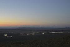 釧路湿原の夕焼けの画像013