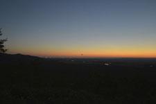 釧路湿原の夕焼けの画像014
