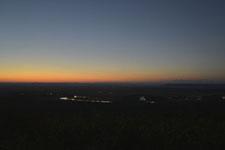 釧路湿原の夕焼けの画像015