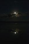 釧路湿原にかかる月の画像012