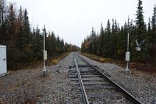 デナリ国立公園内の線路の画像001