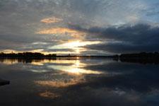 アンカレッジの夕焼けの画像014