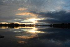 アンカレッジの夕焼けの画像015