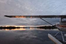 アンカレッジの夕焼けの画像024