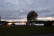 アンカレッジの夕焼けの画像026