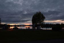 アンカレッジの夕焼けの画像027